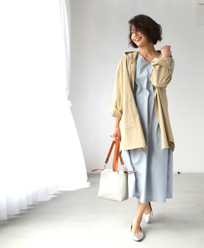 ベージュ ブルー 自然にくびれるXライン立体ワンピース forme ワンピース くびれ 整形級 きれいめ ファッション ベージュ ブルー きちんと服 ロング丈 上品 S2005107bfmIgyY6v