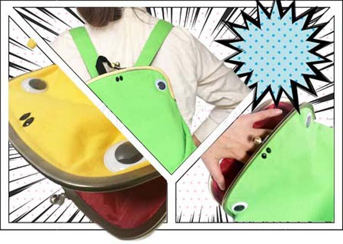 / 乐天排名第一位赢得 / caelgamaluc gymmaster 果酱大师侥幸青蛙工装青蛙汗水青蛙袋背包青蛙绿色和黄色 — — / 海军 / 灰色 / 粉红色吕克 SAK 钱包红雀钱包大 05P28Sep16