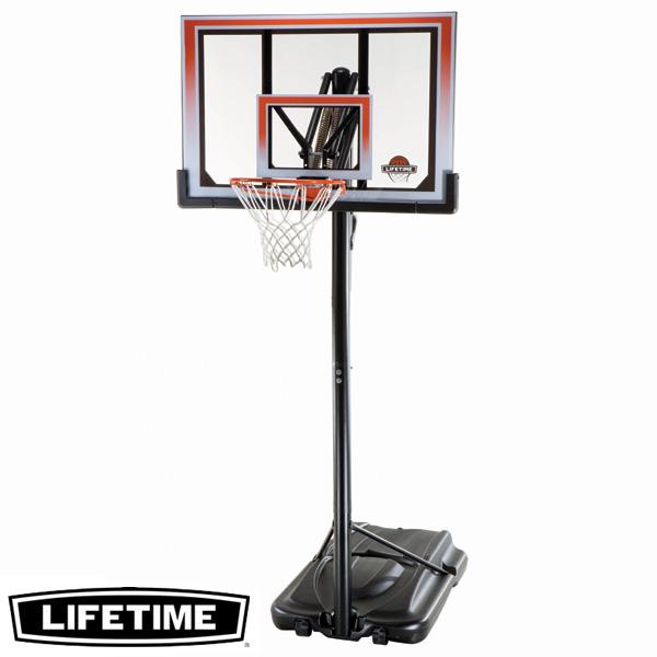 【代引不可】LIFETIME 本格ポータブルバスケットゴール LT-71566 高さ調節可能 自主練、シュート練習で差をつける!