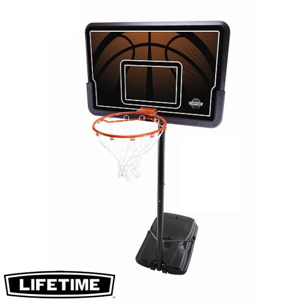 【代引不可】LIFETIME 本格ポータブルバスケットゴール LT-90040 高さ調節可能 自主練、シュート練習で差をつける!