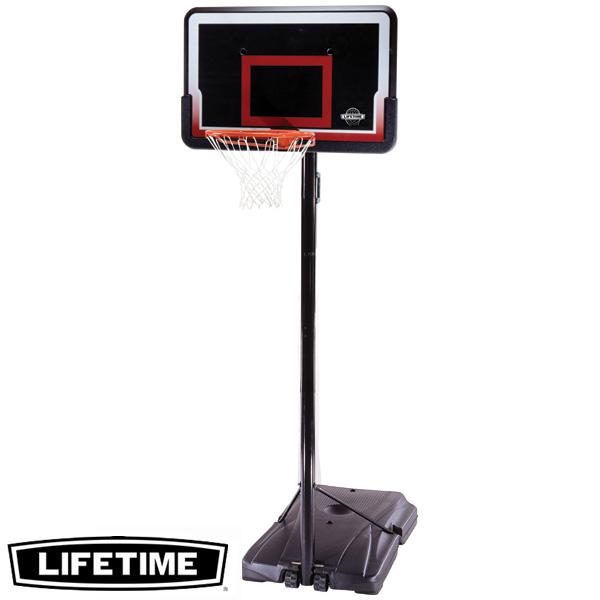 【代引不可】LIFETIME 本格ポータブルバスケットゴール LT-1491 高さ調節可能 自主練、シュート練習で差をつける!