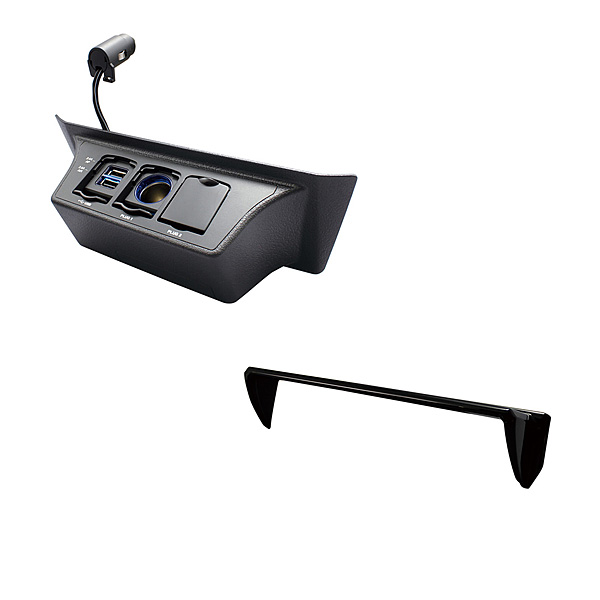 USB carrying smartphone tablet charge awning car navigation system  navigator visor for exclusive use of YAC (yak) 30 system Alphard / VELLFIRE