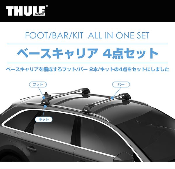Thule Kit Flush Rail 6028