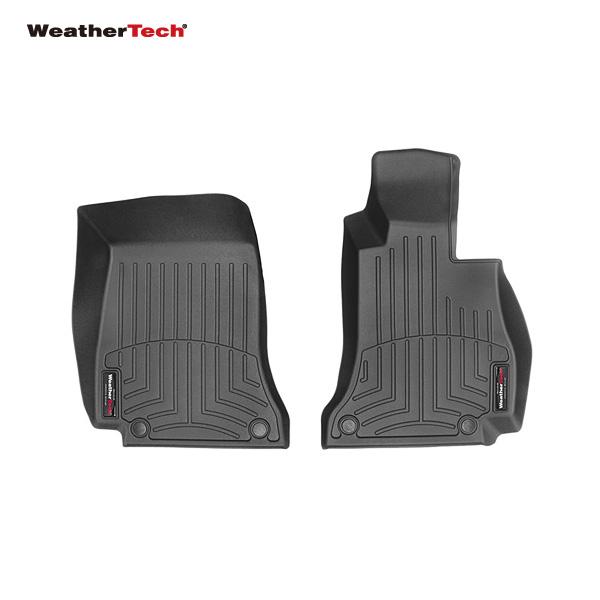 【送料無料※沖縄除く】WeatherTech(ウェザーテック) フロアライナー フロント フロアマット メルセデスベンツ Cクラス クーペ C205/セダン W205/ワゴン S205 WT447601 ゴム製 正規品