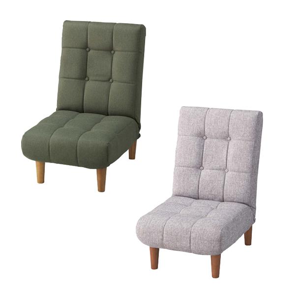 ジョイン フロアソファ リクライニングソファ/グレー/グリーン/リビング・フロアチェア・1人掛椅子・座椅子