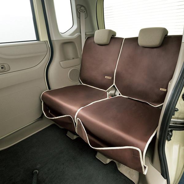 汚れをこぼさない車のシートカバー 簡易防水シートカバー 2枚セット 格安 シートの汚れ徹底ガード チャイルドシートマットとしても最適 エプロンタイプで取り付け簡単 あす楽15時まで 超目玉