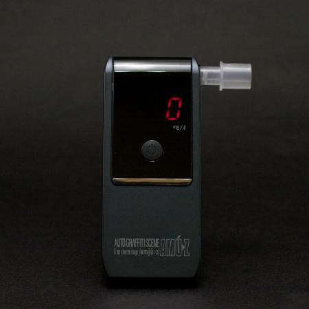 アルコール検知器AC-016 電気化学式アルコールチェッカー 業務用/携帯サイズ/アルコール探知機/アルコールセンサー/検知器【あす楽15時まで】