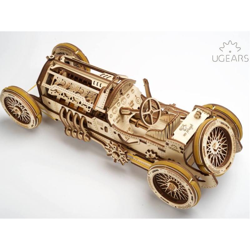 木製メカニカル3D立体パズル