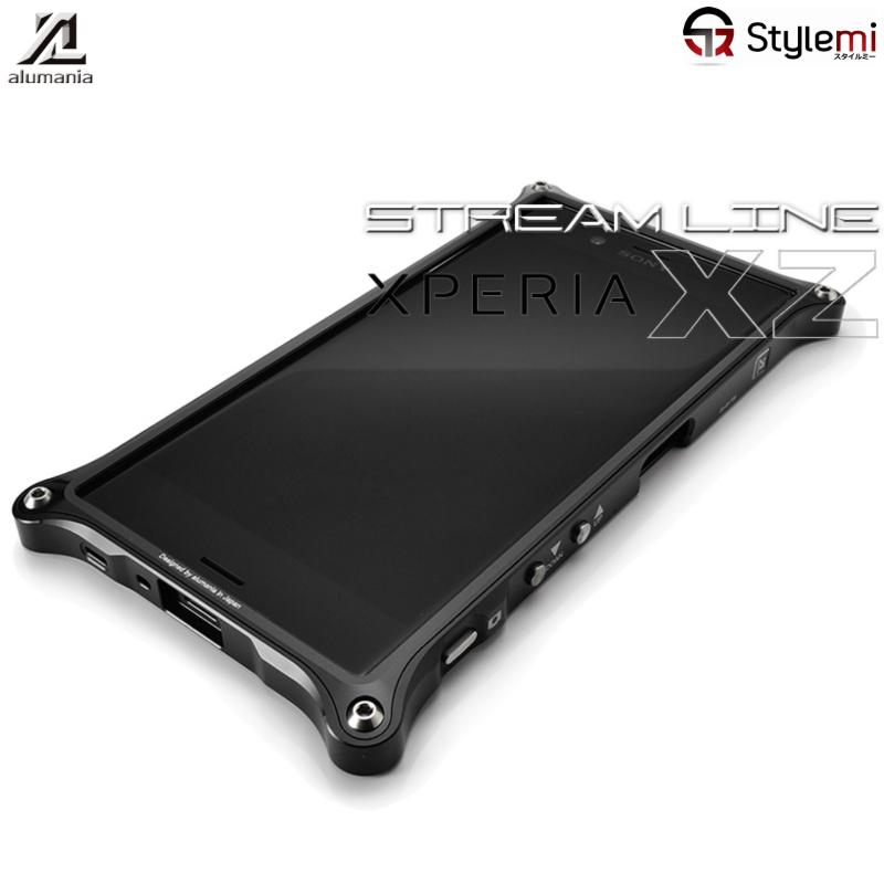 アルマニア ストリームラインXperia XZs / XZ アルミ削り出しスマホケース。6カラー × 6カラー(ツートーン)