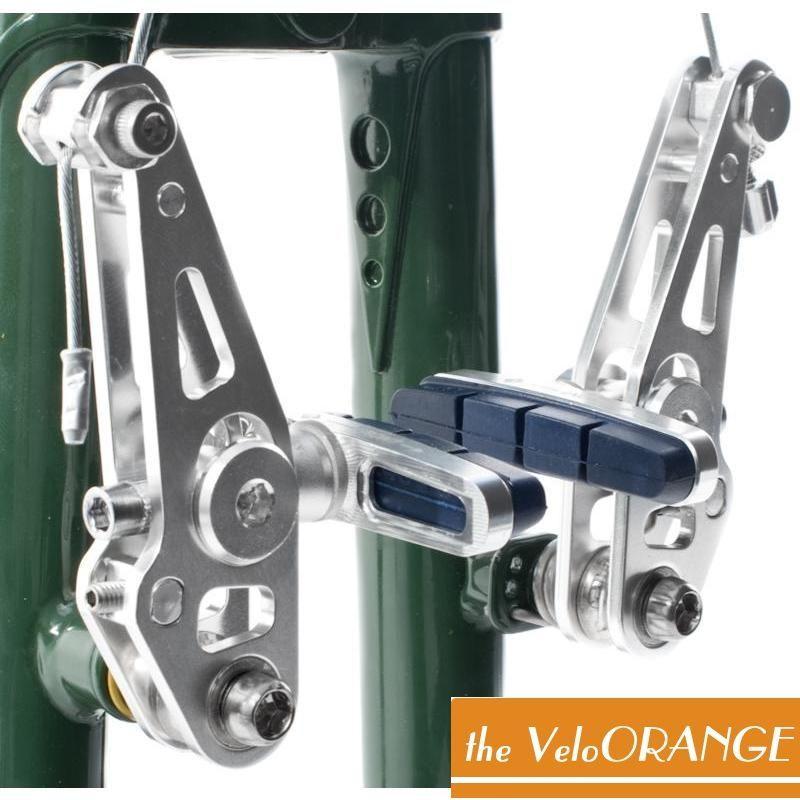 Velo Orange(ヴェロオレンジ) Grand Cru(グランクリュ)Zeste オリジナルカンティレバーブレーキ前後セット。バイシクル 自転車