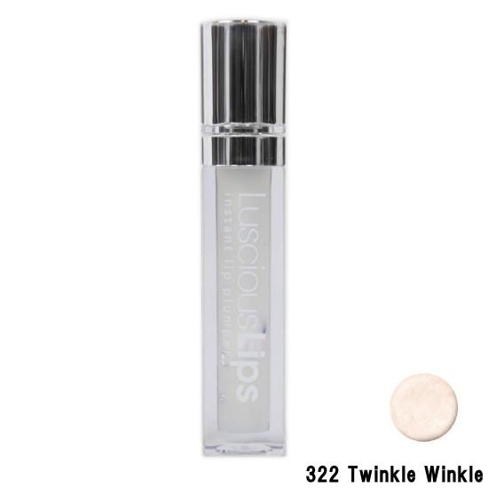 【あす楽】 INFRACYTE ラシャスリップス 7ml 322 Twinkle Winkle [ インフラサイト / Luscious Lips / リップ美容液 / リップ / リップグロス / スティック / 口紅 / ルージュ / 潤い / うるおい / 乾燥 / 保湿 / コラーゲン / ヒアルロン酸 / ミントの香り ]『0』