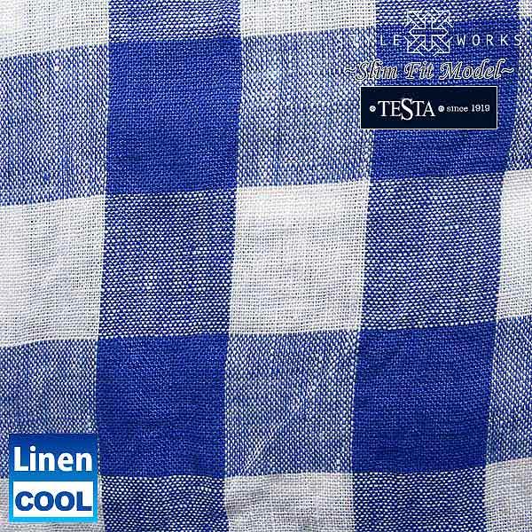 1405-日本长袖原礼服衬衫苗条适合种皮织物使用亚麻 100 cutawaywidecolor 05 P 19 Dec15 05P24Dec15