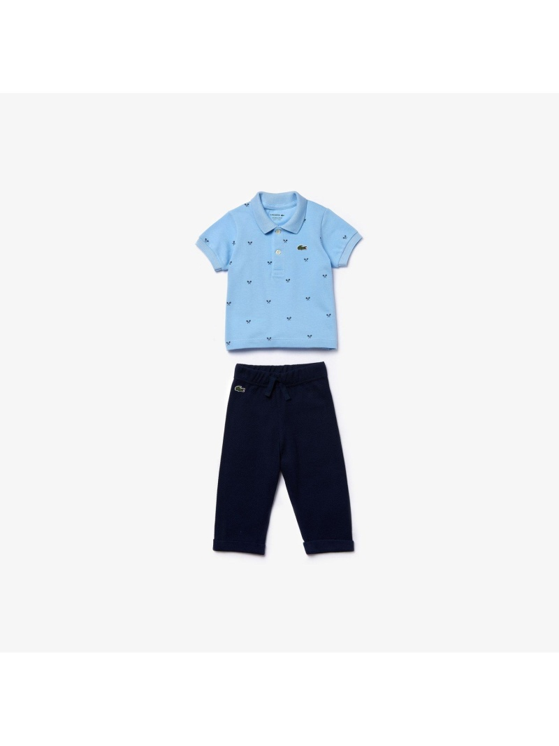 LACOSTE Boy'sベイビーシャワーギフトセット ラコステ マタニティー/ベビー ギフトセット【送料無料】
