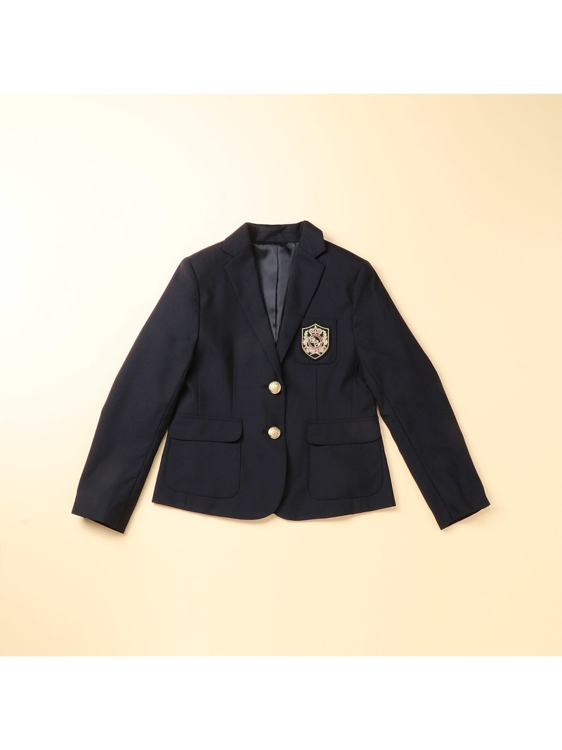 COMME CA ISM 女の子用紺ブレ(140ー160cm) コムサイズム コート/ジャケット【送料無料】