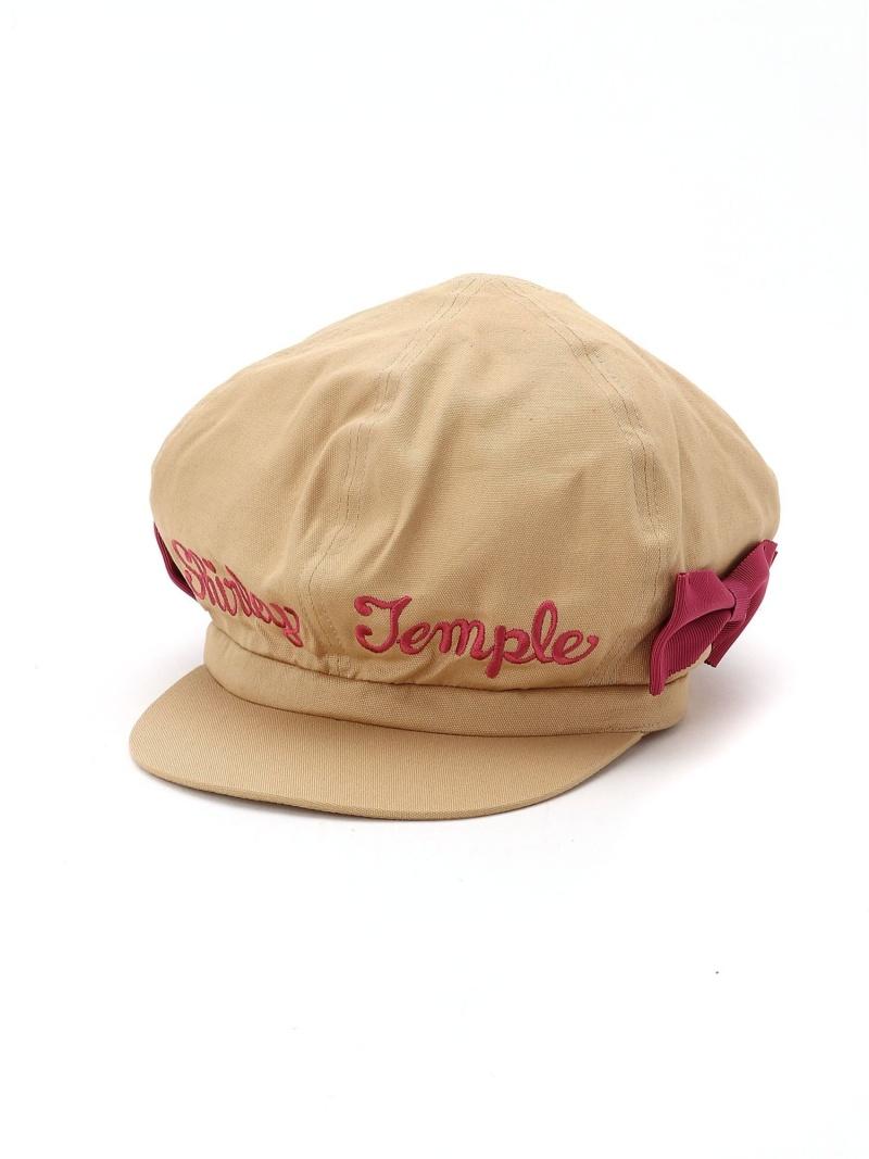 ShirleyTemple リボンキャスケット シャーリーテンプル 帽子/ヘア小物 帽子その他 ベージュ【送料無料】