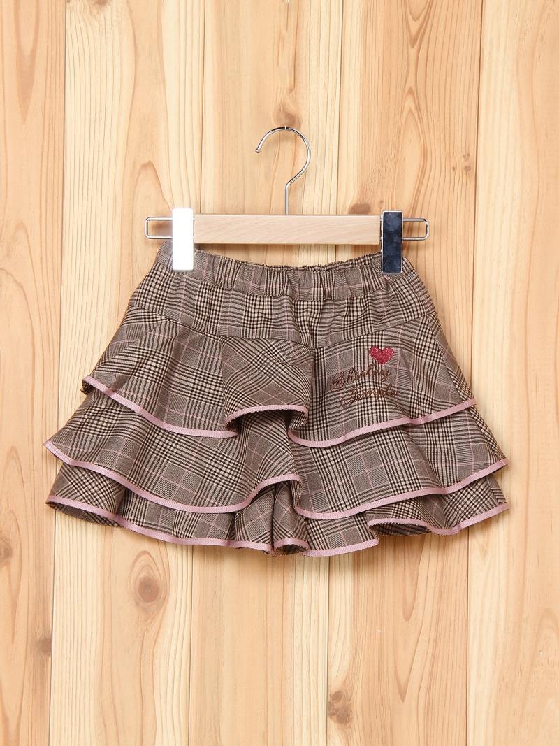 チェックスカート シャーリーテンプル スカート【送料無料】