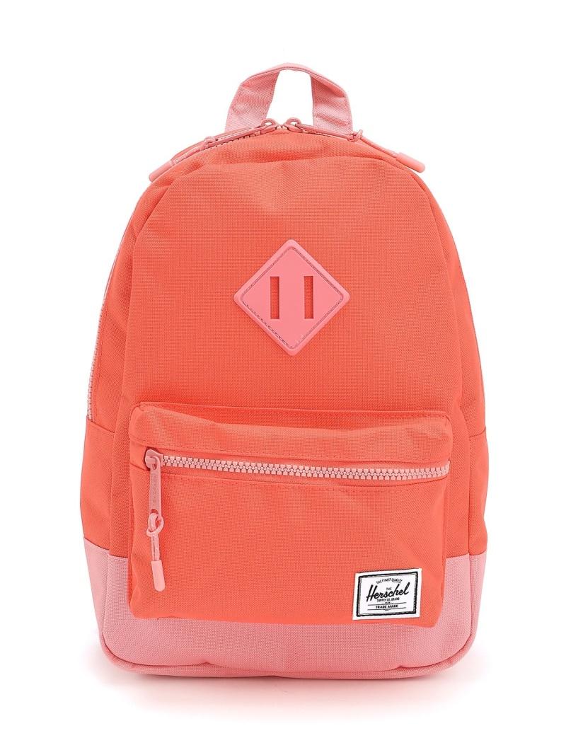 Herschel Supply (K)Heritage Kids_H.Coral*Flamingo Pink ハーシェルサプライ バッグ キッズバッグ オレンジ【送料無料】