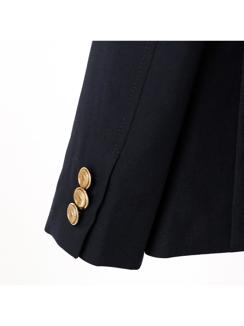 1aa19364f94a9 COMME CA ISM 紺ブレ男の子開き スーツ セットアップ コムサイズム ビジネス フォーマル 送料無料