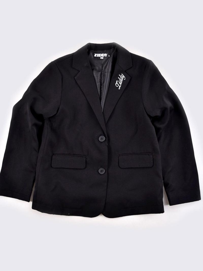 ZIDDY ビッグサイズテーラードジャケット ベベ オンライン ストア コート/ジャケット テーラードジャケット ブラック ネイビー【送料無料】