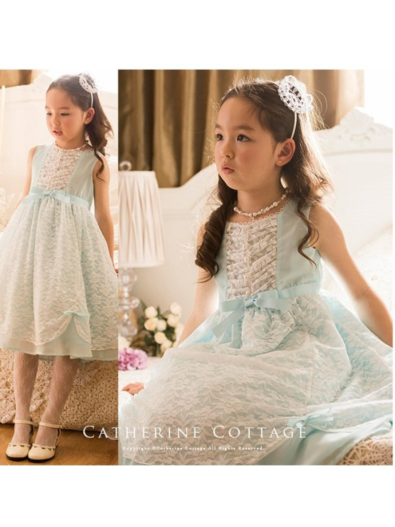 9e667ffc18e4c  SALE/10%OFF Catherine Cottage (K)ローズレースシフォンワンピース
