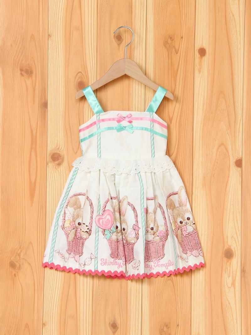 Sweet Basket Bunny pt. ジャンパースカート シャーリーテンプル スカート【送料無料】