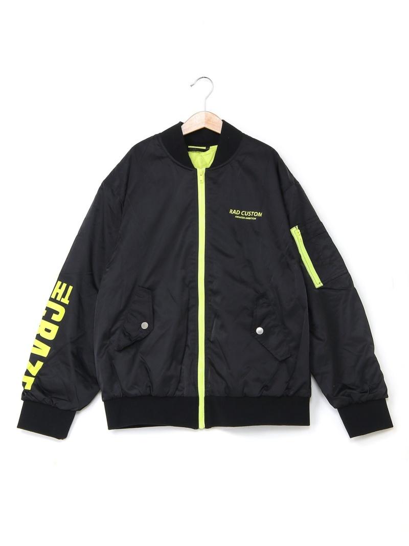 RAD CUSTOM ジャケット ベベ オンライン ストア コート/ジャケット キッズアウター ブラック グリーン【送料無料】
