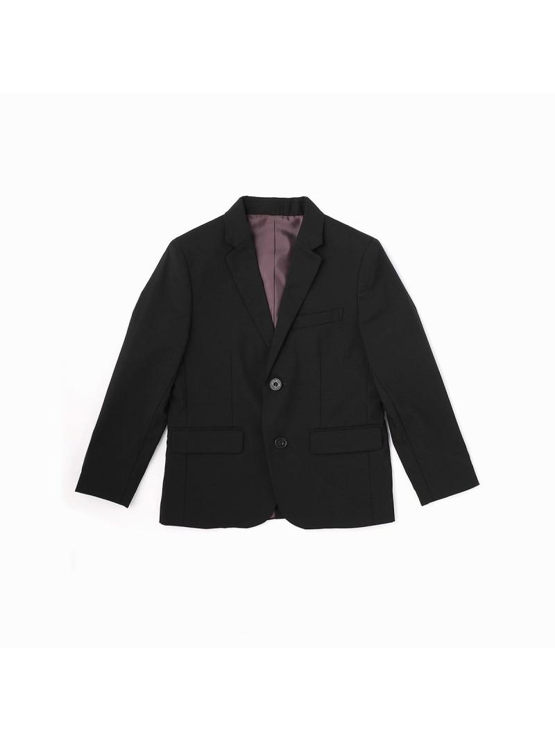 COMME CA ISM テーラードジャケット(140-160cm)【オケージョン・フォーマル・セットアップ】 コムサイズム ビジネス/フォーマル セットアップスーツ ブラック【送料無料】