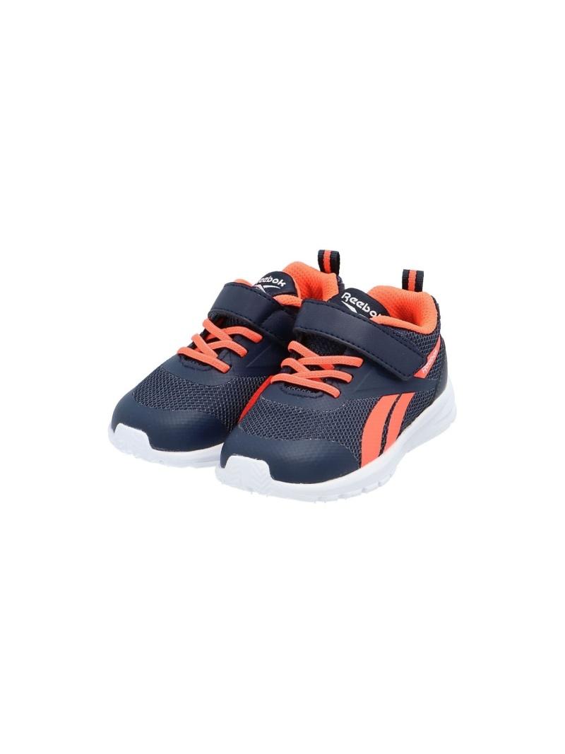Reebok キッズ シューズ リーボック SALE 51%OFF ラッシュ ランナー Runner ネイビー 入手困難 Shoes 春の新作 キッズシューズ RBA_E Rush 3 TD