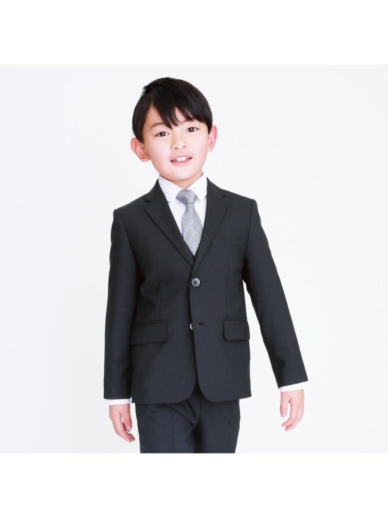 COMME CA ISM セットアップジャケット(110cm~130cm) コムサイズム ビジネス/フォーマル セットアップスーツ ブラック【送料無料】