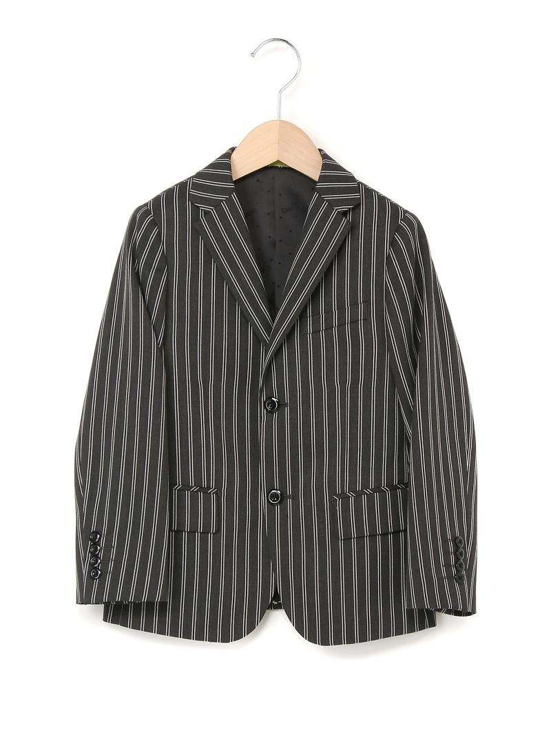 BeBe ストライプテーラードジャケット ベベ オンライン ストア コート/ジャケット【送料無料】