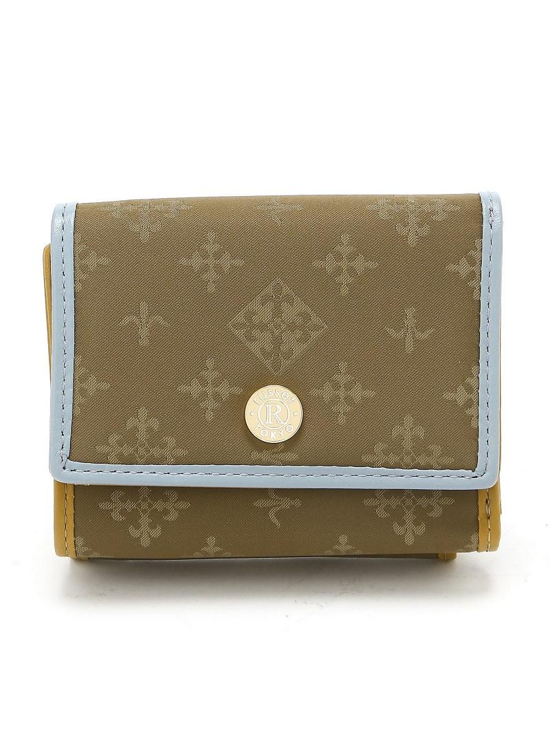 russet パイピング三つ折り財布 ラシットアウトレット 財布/小物【送料無料】