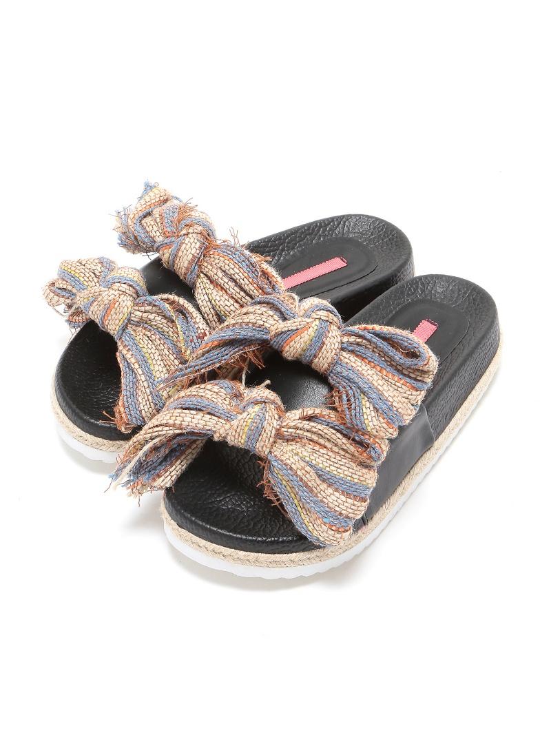 b00fb59a34bb74 Rakuten BRAND AVENUE Outlet  mystic volume ribbon sandals pal group outlet  shoes