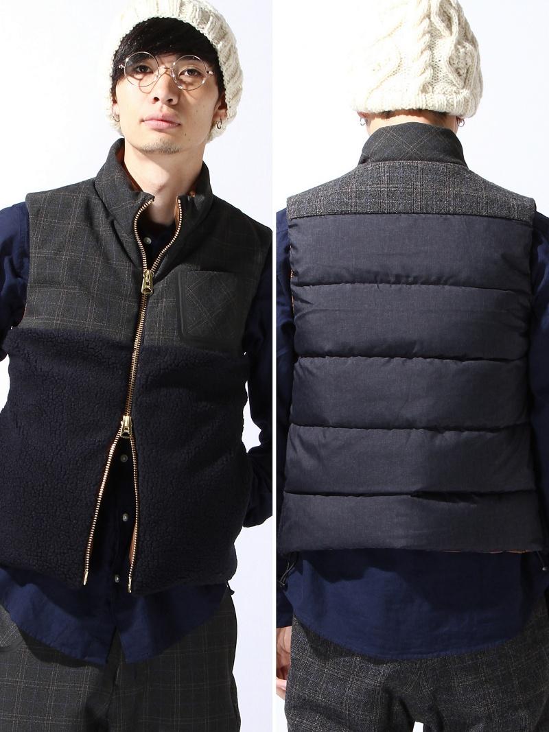 最大の割引 【SALE/30%OFF】08sircus mix ブラウン glen check down vest glen ラクテンファッション アウトレット mix コート/ジャケット ダウンジャケット ブラウン グレー【RBA_E】【送料無料】:Rakuten Fashion Outlet, ゴルフスピリット:3e633aa6 --- nagari.or.id