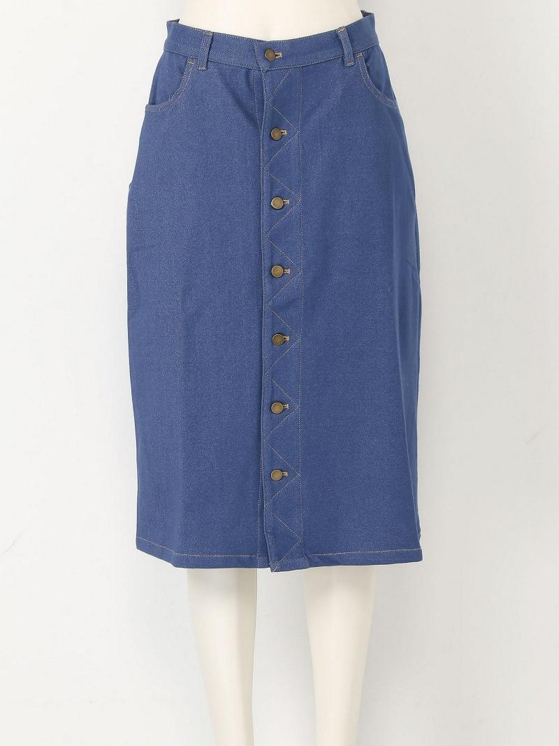 e9cd736544 Rakuten BRAND AVENUE Outlet: KATHARINE ROSS cut denim skirt ...