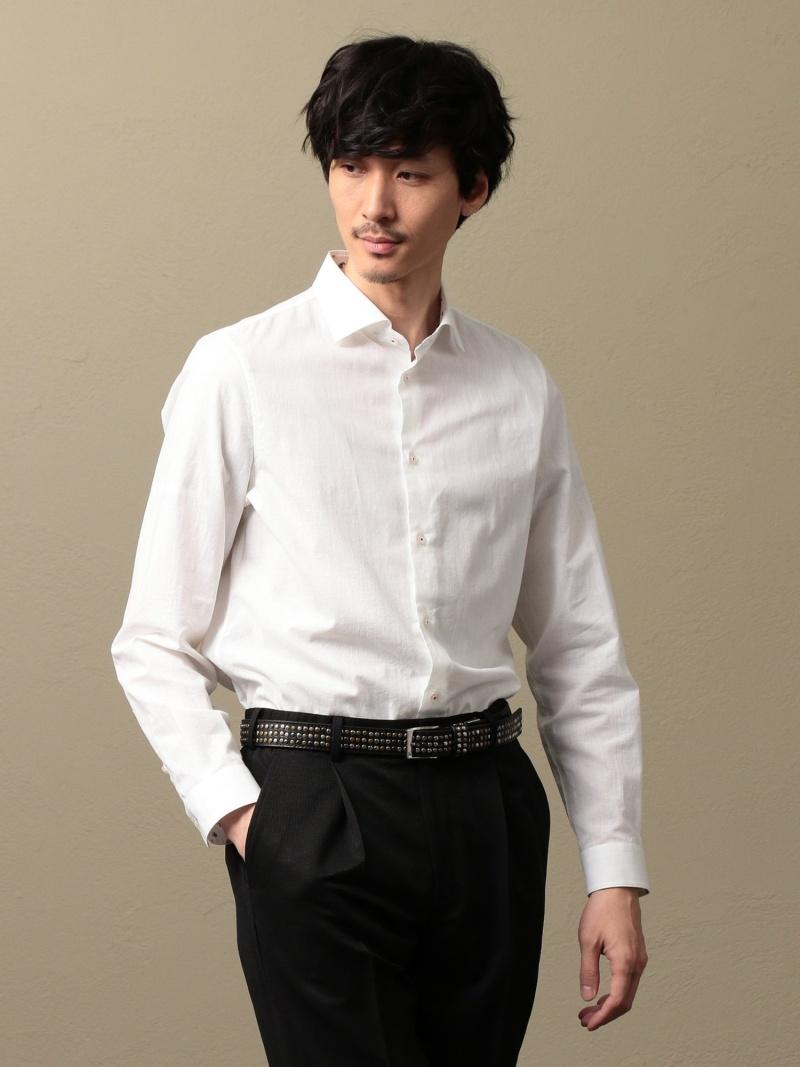 ギルドプライム 【LOVELESS】 【送料無料】 シャツ/ MEN ブラウス ラブレスロゴチェックシャツ GUILD PRIME
