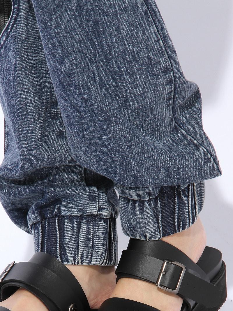 WEGO (L) 心慢跑裤维哥裤 / 牛仔裤