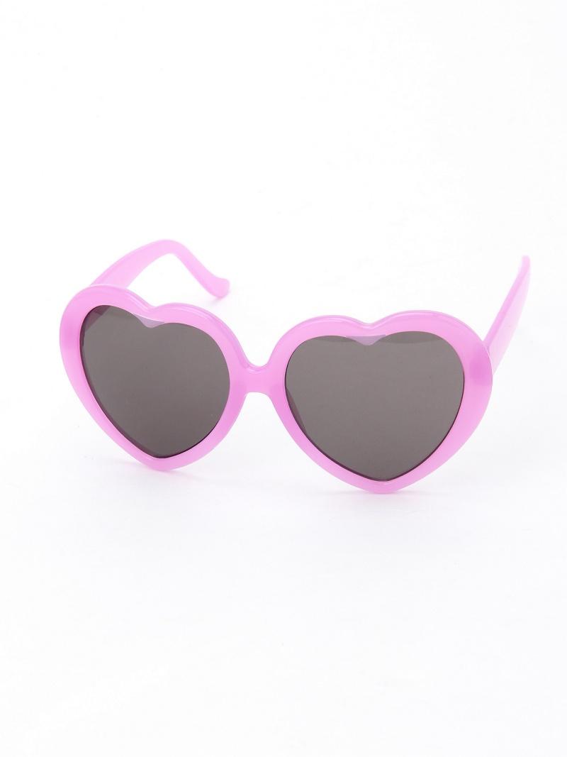 WEGO(L)心彩色粉笔太阳眼镜我们前进