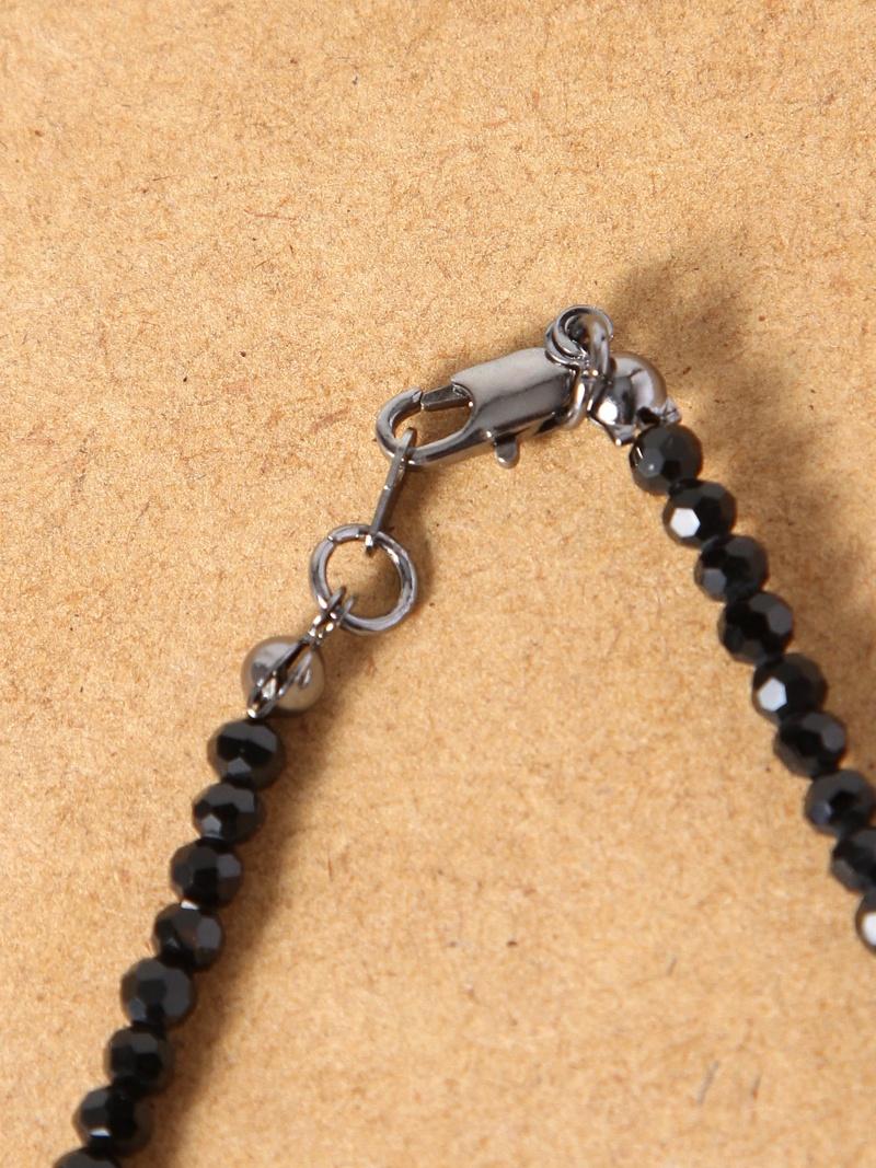 WEGO(M)环黑色项链我们前进配饰