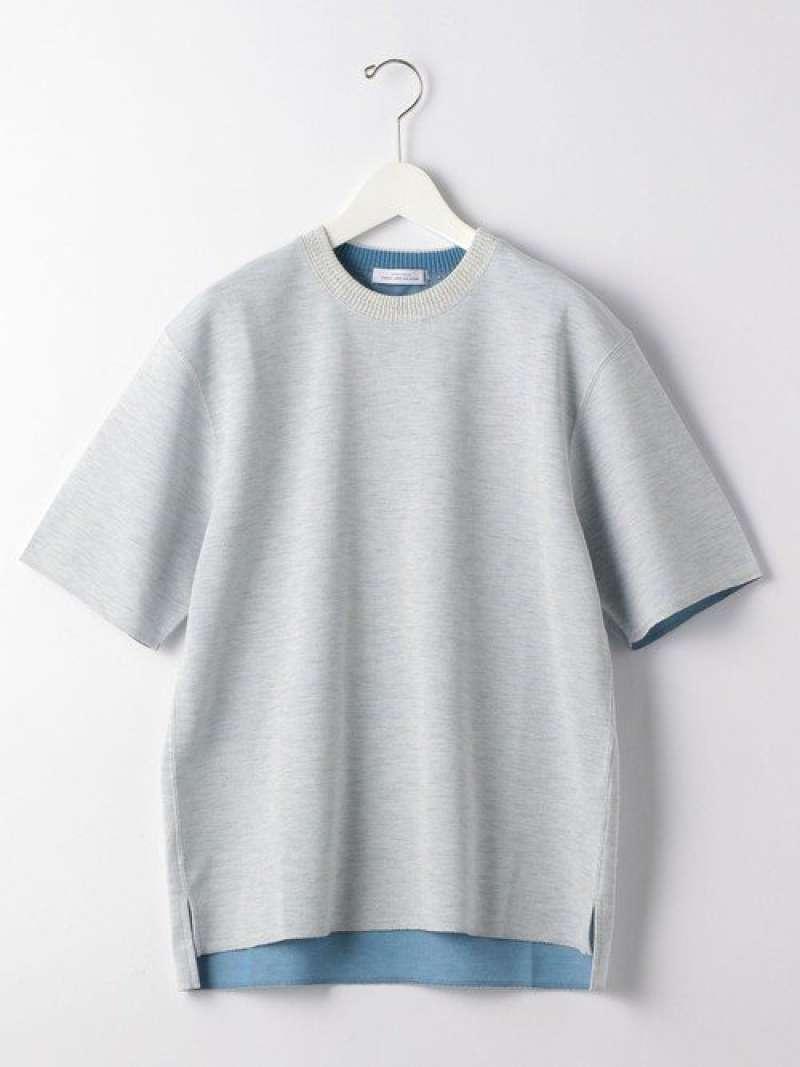 CSMダブルフェイスクルーネック半袖カットソーTシャツ