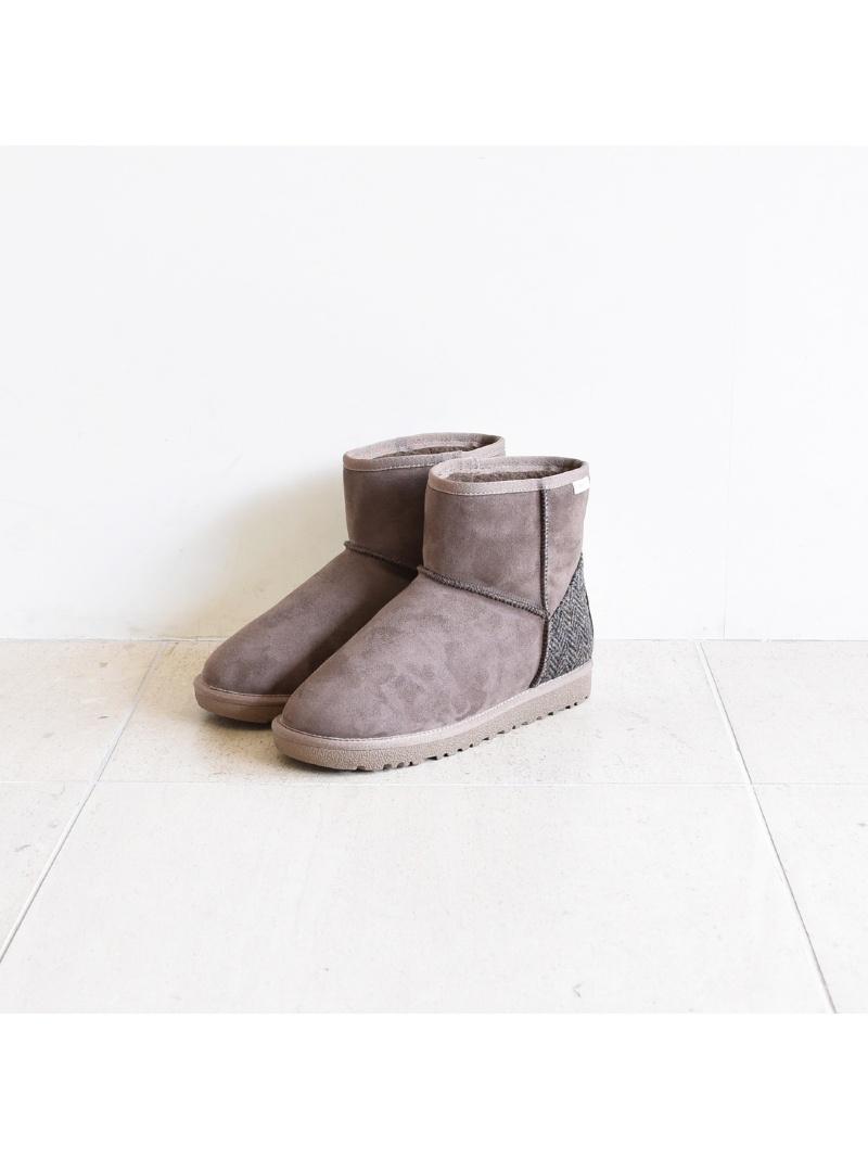 布里奇特 · 伯事先订单 * 哈里斯粗花呢切换短羊皮靴子布里奇特 · 伯金