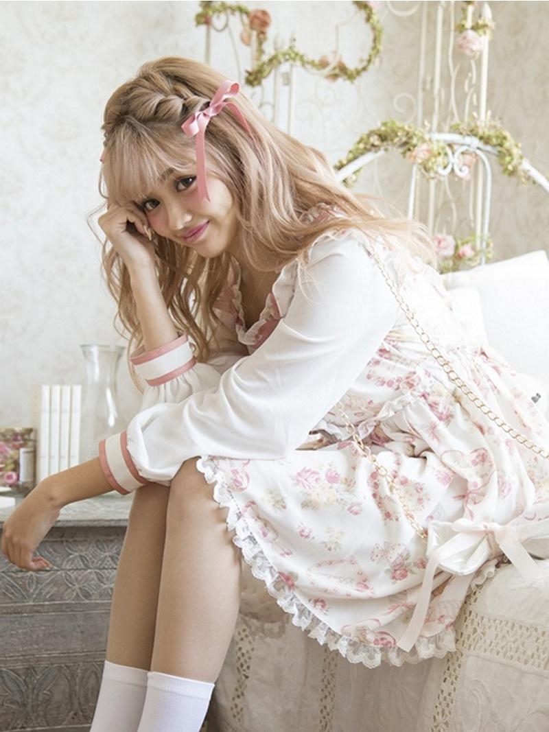 LIZ LISA糖果花纹连衣裙LIZ LISA*