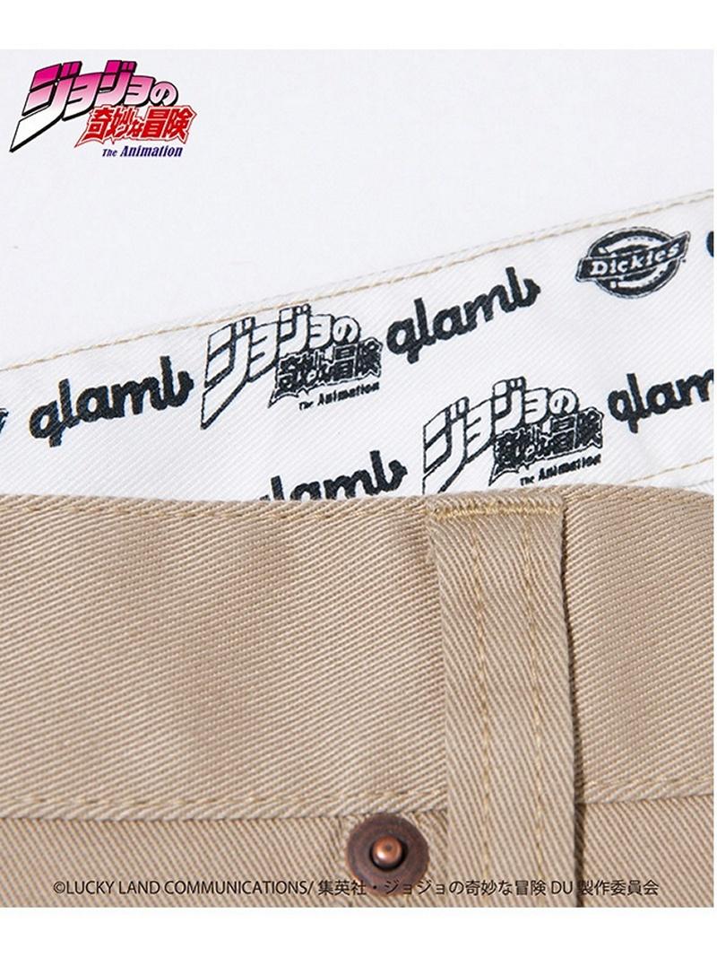glamb [strange adventure of ジョジョ] JOJO Dickies pants gram underwear / jeans  full-length beige black navy