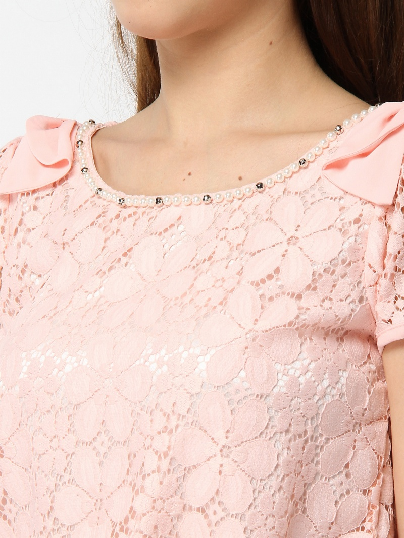 CECIL McBEE furawaresukattososeshirumakubishatsu/女衬衣