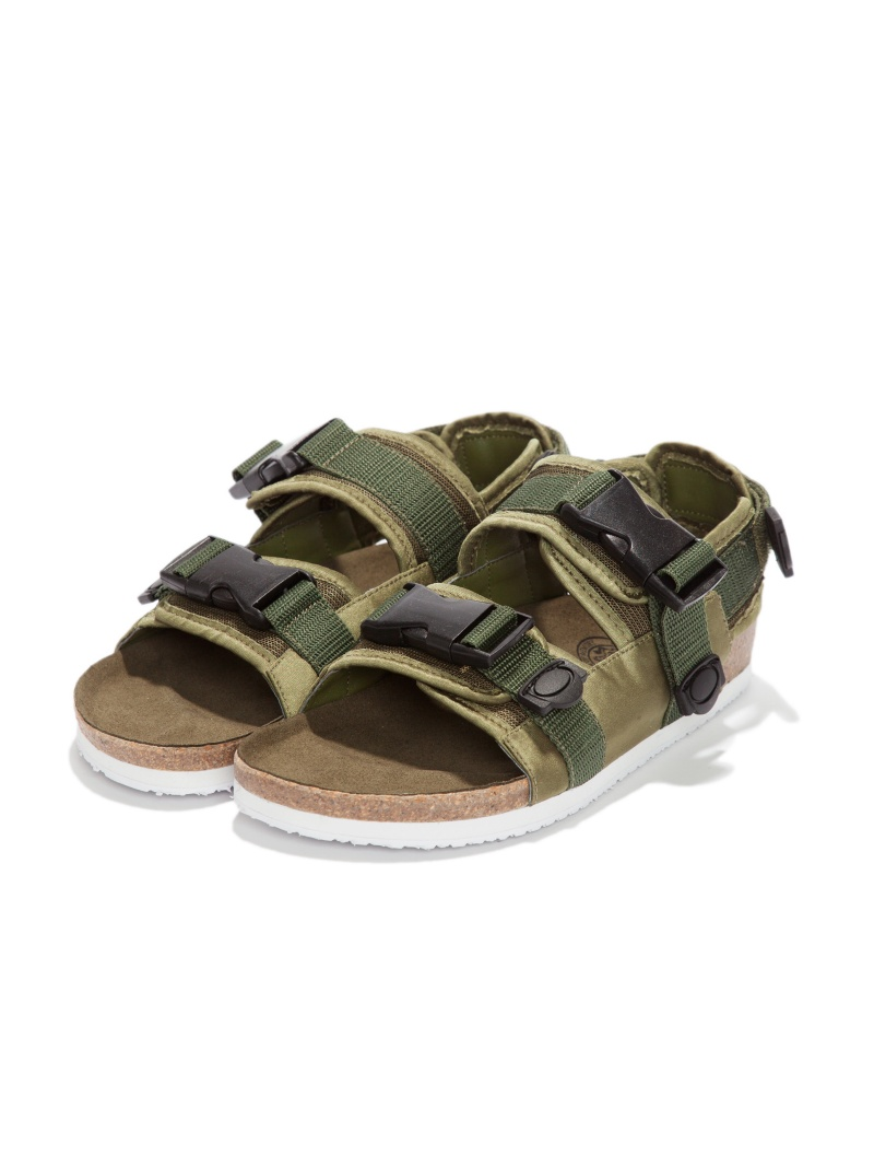BAL 事先订单 * TOMO 共同军事吊带凉鞋栏