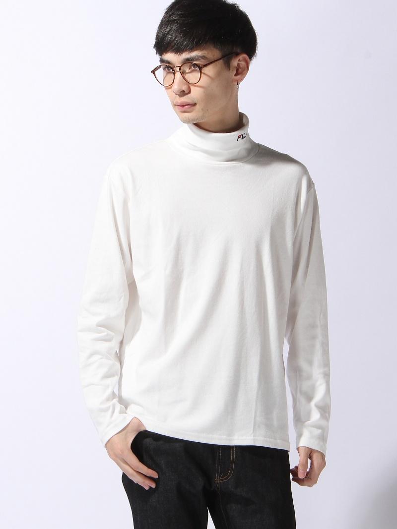 kupuj bestsellery tanie trampki niesamowity wybór WEGO (M)FILA turtleneck T-shirt we go cut-and-sew T-shirt white black red