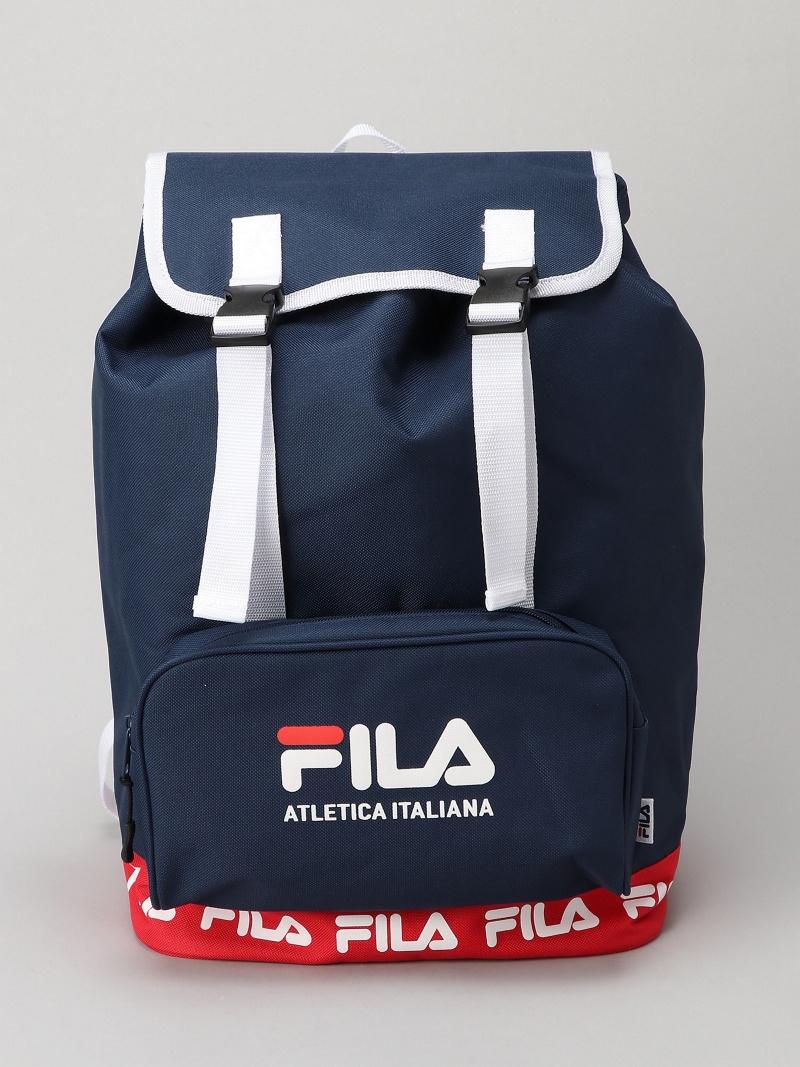 FILA/(M)注释FILA襟翼帆布背包我们前进