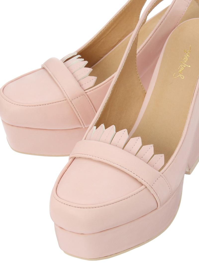 SMIR NASLI Wedge Loafers