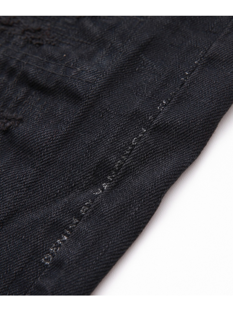 DENIM BY VANQUISH&FRAGMENT FIVE YEARS WASH regyurasutoretoburakkudenimudenimubaivankisshuandofuragumento