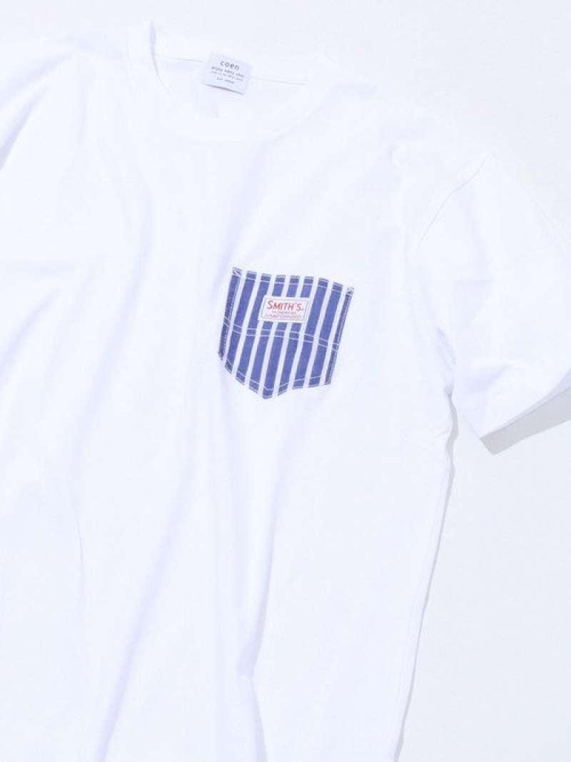 【女性にもオススメ】SMITH'S別注ポケットTシャツ(20SS)#