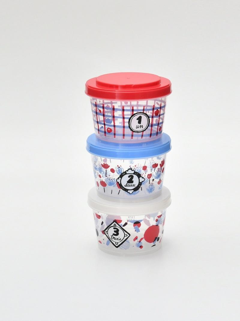 Afternoon Tea Moomin×Afternoon アフタヌーンティー・リビング Tea/ 生活雑貨 保存容器3個セット [Rakuten BRAND AVENUE]